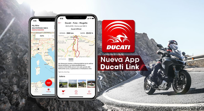 Nueva App Ducati Link
