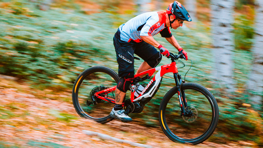 &laquo Mig-S &raquo  All Mountain e-mtb by Ducati